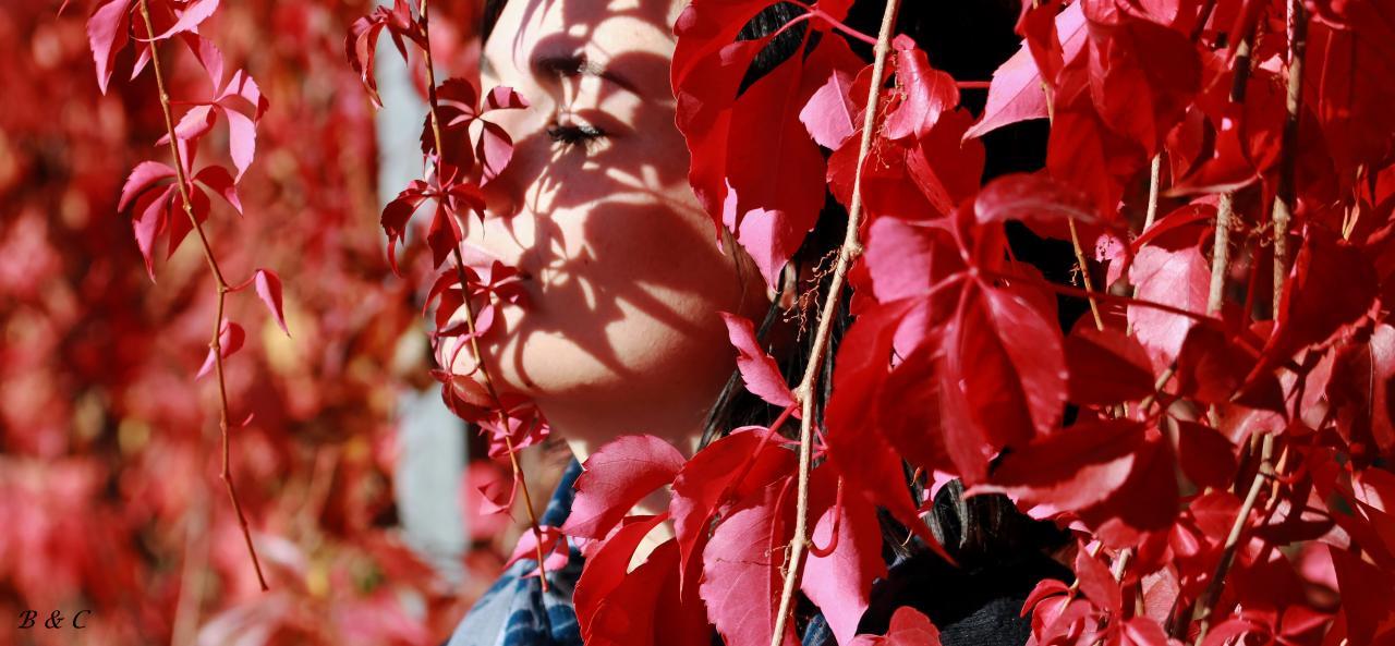 """Portrait Alison """"Au jardin du Muséum"""""""